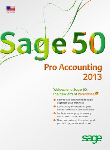 Sage 50 Pro Accounting 2013 US Edition