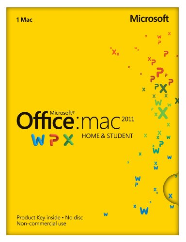 Office Mac Home and Student 2011 - 1PC/1User [Download]