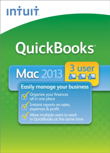 QuickBooks for Mac 2013 - 3 User [Download]