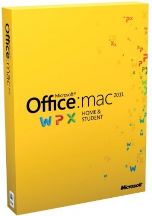 Office for Mac Home & Student 2011 - 1 Pack