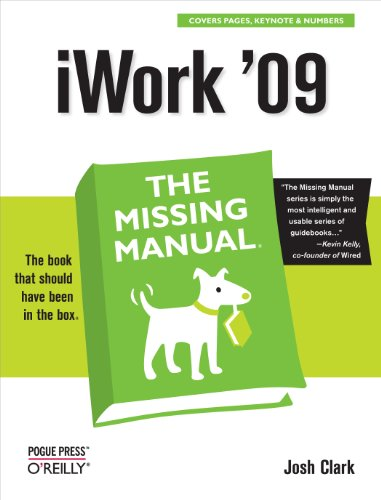 iWork '09: The Missing Manual (Missing Manuals)
