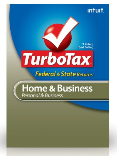 TurboTax Home & Business Federal + E-File + State 2012 for PC [Download]
