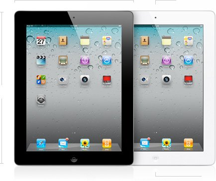 Apple iPad 2 MC980LL/A Tablet (32GB, Wifi, White) 2nd Generation