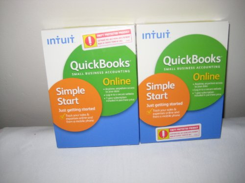 Intuit Quick Books Sall Busiess Accounting Simple Smart (2 Pack)