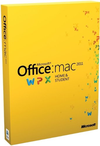 Office for Mac 2011 Home & Student -Family Pack
