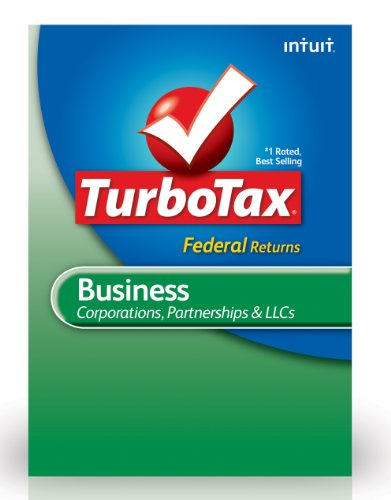 TurboTax Business Federal + E-File 2012 for PC [Download]