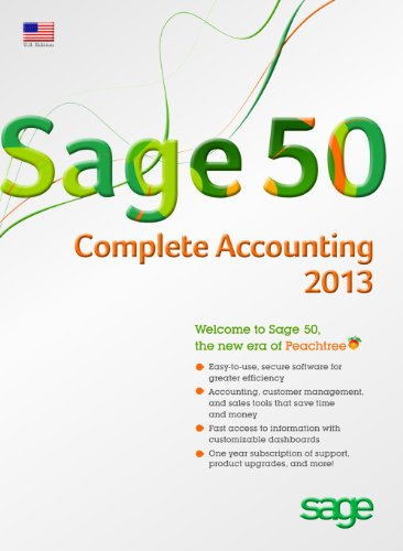 Sage 50 Complete Accounting 2013 US Edition