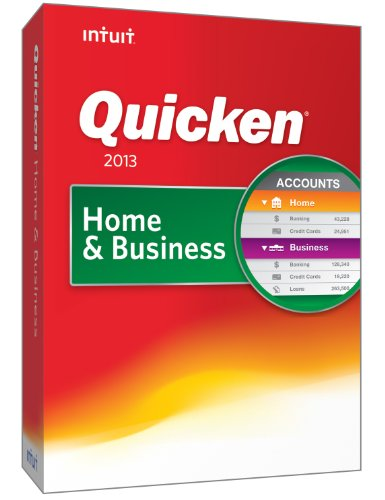 Quicken Home and Business 2013