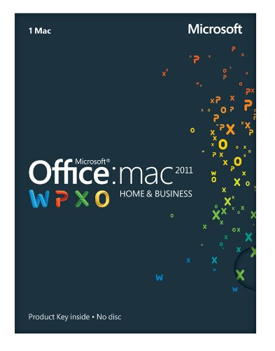 Office Mac 2011 Home and Business 2011 - 1PC/1User [Download]