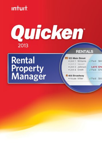 Quicken Rental Property Manager 2013 [Download]