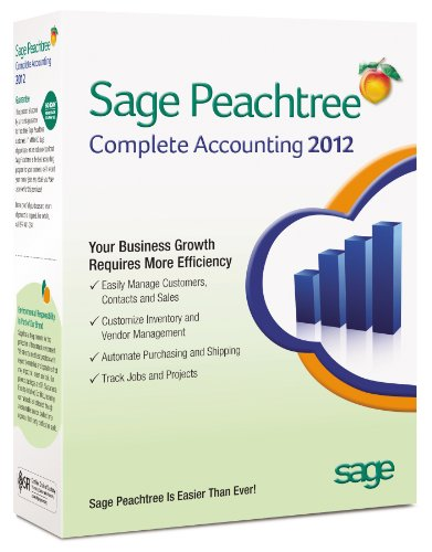 Sage Peachtree Complete Accounting 2012 [OLD VERSION]