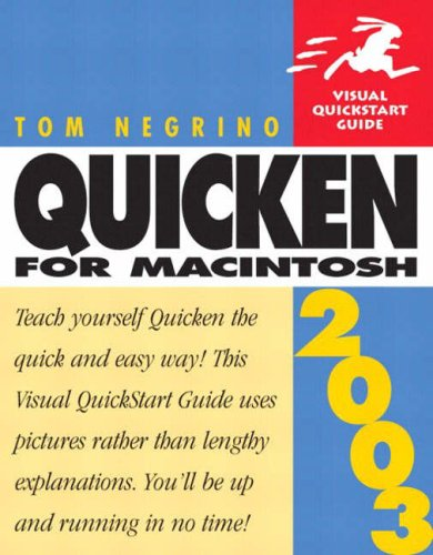 Quicken 2003 for Macintosh (Visual QuickStart Guide)