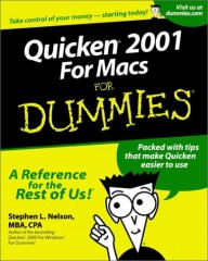 Quicken 2001 for Macs for Dummies