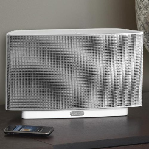 Sonos PLAY:5 All-in-One Wireless Music Player with 5 Integrated Speakers (S5, White)