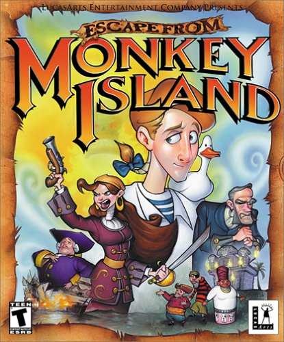 Escape from Monkey Island (Mac)