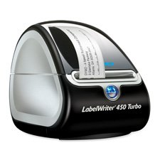 DYMO LABELWRITER 450 TURBO LABEL PRINTER WIN/MAC USB
