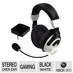 Turtle Beach Ear Force X31 Wireless Stereo Gaming Headphones w/Boom Microphone & Inline Volume Control for Xbox 360