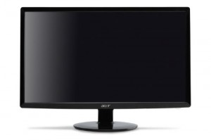 Acer S201HL bd 20-Inch Widescreen Ultra-Slim LED Display - Black