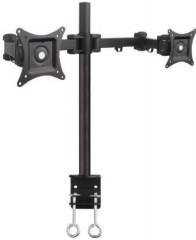 """Mount-It! Articulating Dual Arm Computer Monitor Desk Mount for monitors up to 27"""""""