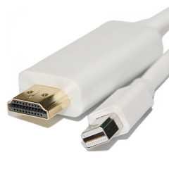 HDE® Mini Display Port to HDMI Adapter Cable - 6 ft.