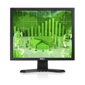 Dell E170S 17' LCD Monitor - 4:3 - 5 ms. 17IN LCD 1280X1024 800:1 E170S VGA BLK 5MS TILT EPEAT GOLD LCD. Adjustable Display Angle - 1280 x 1024 - 16.7 Million Colors - 250 Nit - 800:1 - VGA - Black - Energy Star, EPEAT Gold