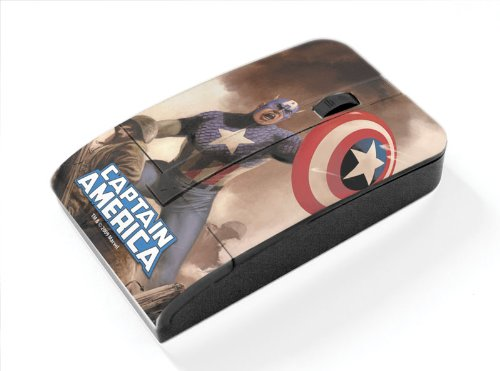 Marvel Captain America Wireless USB Mouse