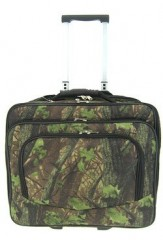 Rolling Camo Leaf Print Laptop Travel Case Briefcase Bag Camougflage