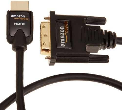 AmazonBasics HDMI to DVI  Adapter Cable (9.8 Feet/3.0 Meters)