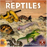 New Arc Media World Of Reptiles Compatible With Windows & Macintosh