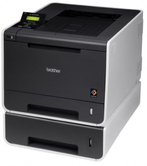 Brother Printer HL4570CDWT Color Laser Printer with Duplex and Dual Paper Trays