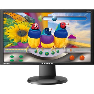 "Graphic VG2428Wm 24"" LCD Monitor - 5 ms by VIEWSONIC"