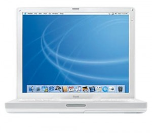 "Apple iBook Laptop 14.1"" M9165LL/A (1Ghz PowerPC G4, 256 MB RAM, 60 GB Hard Drive, DVD/CD-RW Drive)"