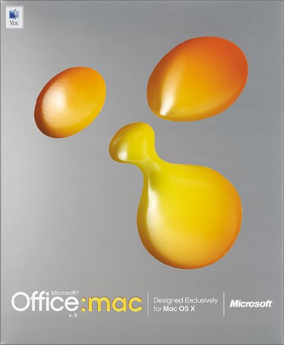 Microsoft Office X Pro Upgrade for Mac [Old Version]
