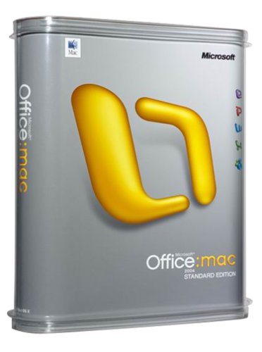 Microsoft Office 2004 for Mac Standard [OLD VERSION]