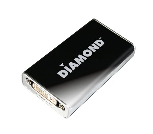 Diamond BVU195 HD USB 2.0 to VGA / DVI / HDMI Adapter (DisplayLink DL-195 Chipset)