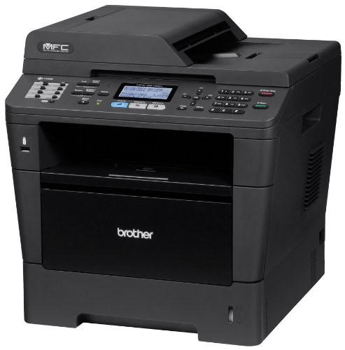 Brother Printer MFC8510DN Monochrome Printer with Scanner, Copier and Fax
