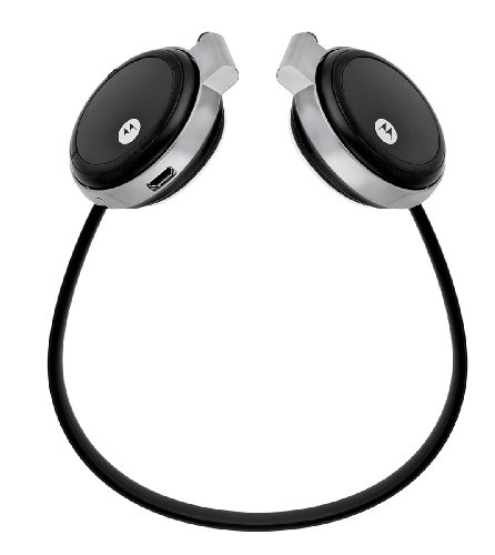 Motorola S305 Bluetooth Stereo Headset w/ Microphone (Black) - Retail Packaging