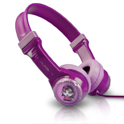 JLab JBuddies Kids Volume Limiting Headphones  -  Purple