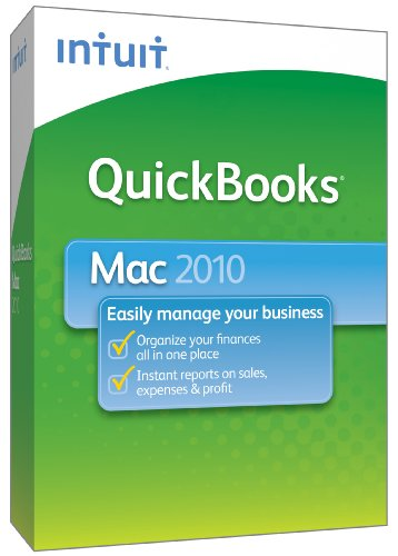 QuickBooks 2010 for Mac [OLD VERSION]