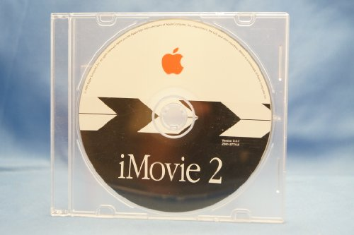 Apple Macintosh IMovie 2 Two Version 2.0.1 Year 2000: Computer Software Installation Disc Part Number #Z691-2774-A