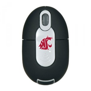 NCAA Washington State Cougars Mini Wireless Optical Mouse