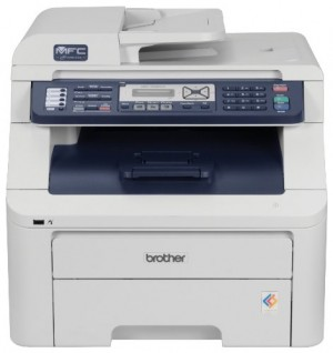 Brother MFC-9320CW High Quality Digital Color All-in-One Printer with Wireless Networking