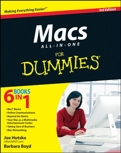 Macs All-in-One For Dummies (For Dummies (Computer/Tech))