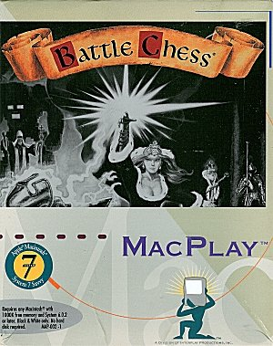 Battle Chess For Apple Macintosh System 7 Savvy