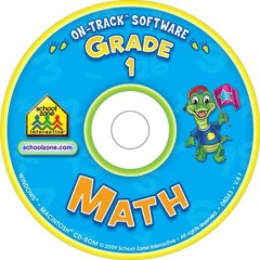 School Zone Software On-Track Math 1 for Windows and Macintosh - Ages 6 to 7