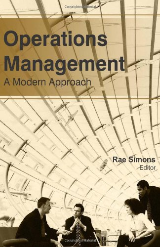 Operations Management: A Modern Approach