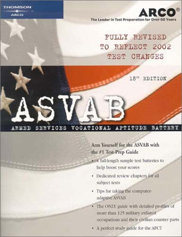 ASVAB 18th Edition (Arco Military Test Tutor)