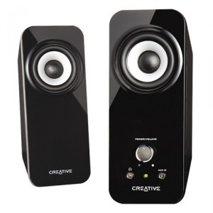 Creative Labs Powered PC Speakers (T12)