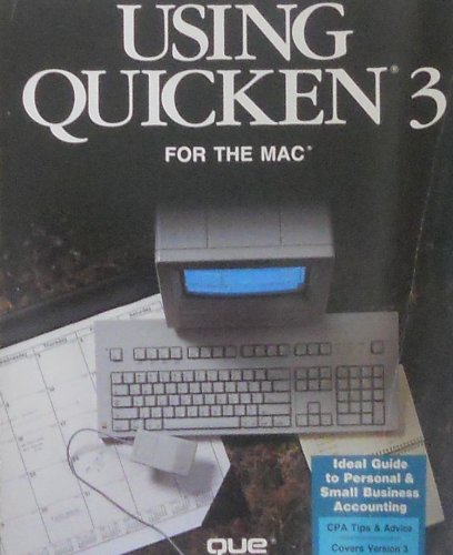 Using Quicken 3 for the Mac
