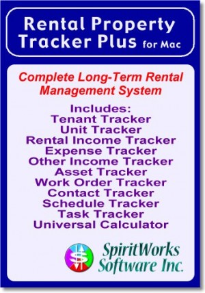 Rental Property Tracker Plus for Mac [Download]